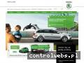 Screenshot strony www.br.skoda-auto.pl