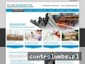 Screenshot strony www.euromixstal.pl
