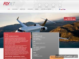 Taksówka powietrzna Flyjet