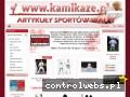 KAMIKAZE KAROLINA GRĄBCZEWSKA stroje do karate