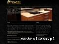 Screenshot strony www.stencel.com.pl