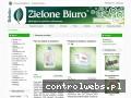 Screenshot strony www.zielonebiuro.com