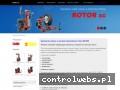Screenshot strony www.rotor.biz.pl