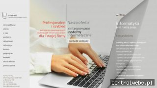 Systemy zarządzania firmą oferuje Komp-Net.