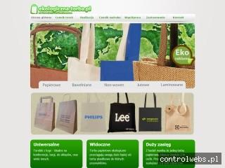 Ekologiczna-Torba.pl – tanie torby reklamowe