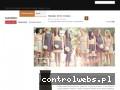 Screenshot strony www.sukienki-online.pl