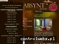 Screenshot strony www.hostelabsynth.pl