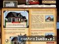 Screenshot strony www.drewnianecaloroczne.pl