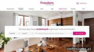 Freedom - szybka sprzedażnieruchomości