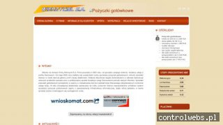 Pożyczka gotówkowa - Informacje