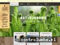 Screenshot strony naturobranie.pl