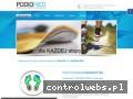 Screenshot strony www.podiomed.pl