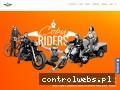 Screenshot strony www.copyriders.pl