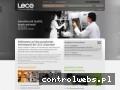 Screenshot strony leco-europe.com