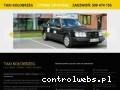 Screenshot strony www.taxi-kolobrzeg.eu