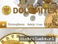 Screenshot strony www.monety24.com.pl