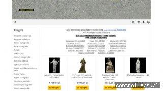Sklep internetowy - Galanteria nagrobna - Sacrum Granity Pol