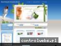 Screenshot strony www.kosmetyki-lecznicze.pl