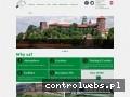 Screenshot strony www.hostelgreendragon.eu