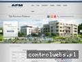 Screenshot strony apm-development.com.pl