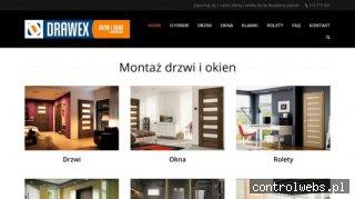 Montaż drzwi i okien Drawex