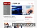 Screenshot strony www.sell-car.pl