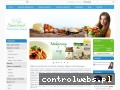 Screenshot strony www.fitness-food.pl