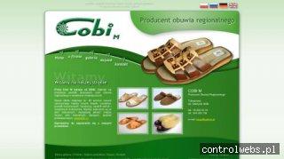 Pantofle skórzane - www.cobi-m.pl