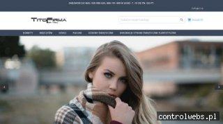 TitoFirma.pl - Modne szale na jesień/zimę szale komin