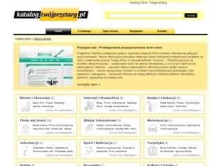 Katalog.twojprzetarg.pl - Największa baza firm w Polsce