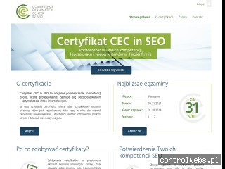 Competence Examination Center in SEO