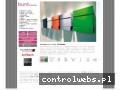 Screenshot strony www.bunthousedesign.pl