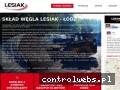 Screenshot strony wegiellesiak.pl