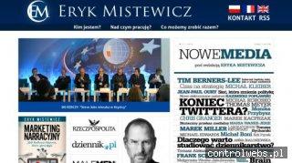 Kim jest Eryk Mistewicz?