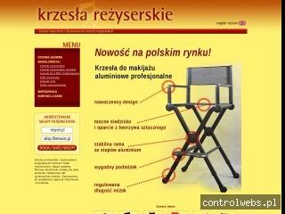 Krzesła reżyserskie | www.krzeslarezyserskie.pl
