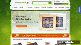 CoZaHerbata.pl - sklep z herbatami i ziołami