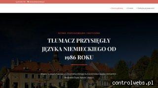 Tłumacz przysiegły - powiat Wodzisław Śląski