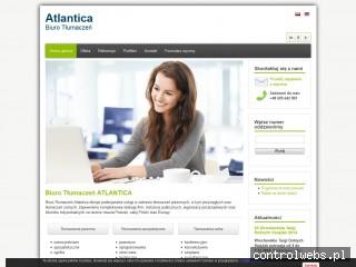 Biuro Tłumaczeń Atlantica