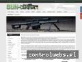 Screenshot strony www.gun-center.pl