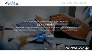LEX CONSEIL biura księgowe lublin