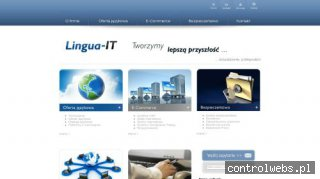 Tworzenie stron www Lingua-IT Sp. z o.o.