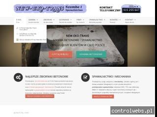 NEW-EKO-TRANS, ogólnopolski lider produkcji szamb betonowych