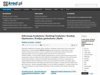 Rankingi kredytów hipotecznych - Portal finansowy