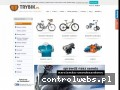 Screenshot strony www.trybik.pl