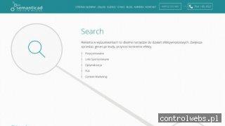 Semanticad - reklama w wyszukiwarce
