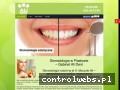 Screenshot strony stomatologpiastow.com.pl