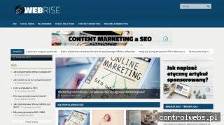 Webrise - kompleksowa obsługa firm w Internecie