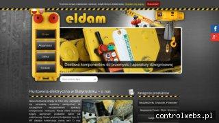 Hurtownia ELDAM stycznik 230v