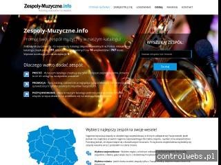 Zespoly-muzyczne.info - zespoły na wesela