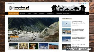Portal turystyczny tropster.pl